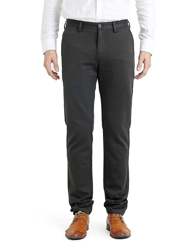 5b91b91b29b3 100FIXEO Men s Slim Stretchy Casual Pant (33