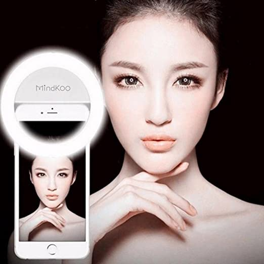 71 opinioni per Mindkoo Selfie Luce Anello Flash Macro Ring Light Portatile LED Esterno