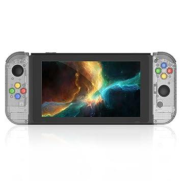 Amazon.com: Interruptor de juego de carcasa para Nintendo de ...