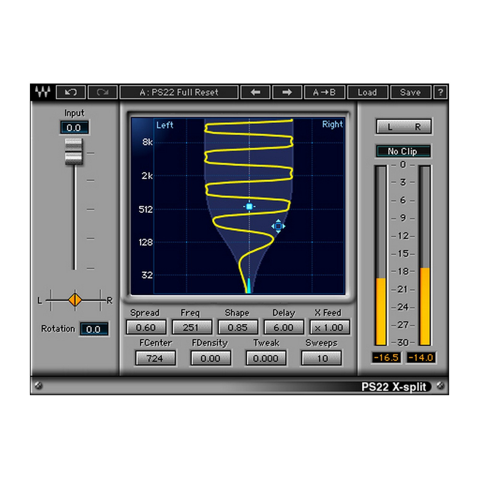 Waves PS22 | Stereo Maker Plugin Software Download Only by Waves