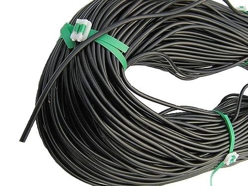 CostWise 4mmX10meter Micro Irrigation Tubing - Black