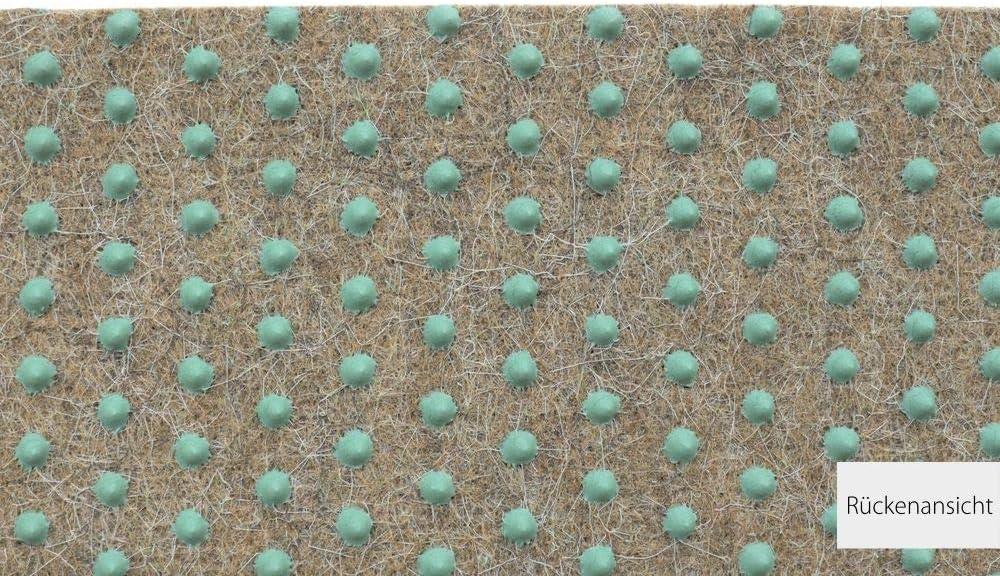 HEVO /® Green Kunstrasen Outdoorteppich Farbe 17 in 140x200 cm