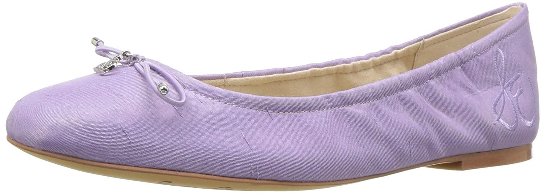 Lavender Silk Dupioni Sam Edleman Damen Felicia Ballerinas