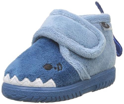 Victoria Bota Velcro Animales, Zapatillas Bajas Unisex bebé