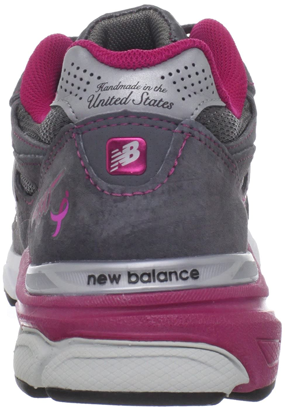 New Balance - - Frauen 990v3 990v3 990v3 Stabilitätslaufschuhe EUR  37.5 EUR - Width B grau with Rosa & Weiß 915c5a