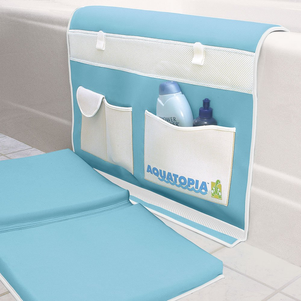 Aquatopia 1021 Deluxe Safety Bath Time Easy Kneeler, Blue