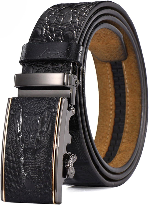 Susan1999 Belts Men Genuine Leather Strap Waist Luxury Wedding