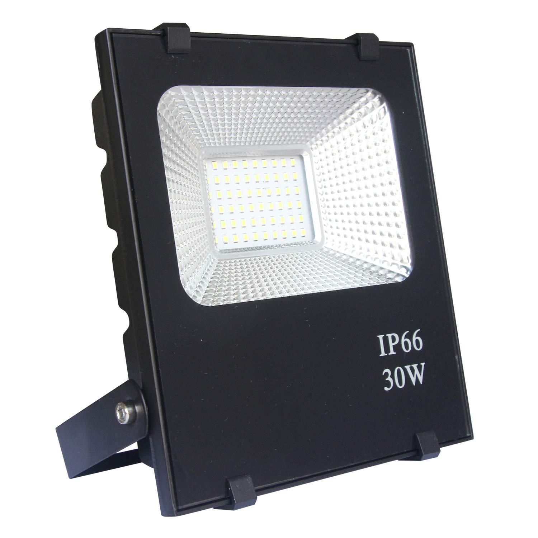 AUFUN 100W LED auß en strahler RGB mit fernbedienung - farbwechselhafte 4 Modi 16 Farben LED Fluter - LED sicherheitsleuchte schwarz wasserdicht IP66 (100W RGB)