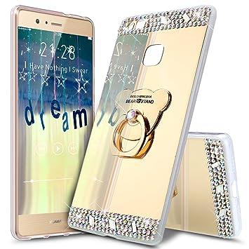 Funda Huawei P10, Carcasa Huawei P10, ikasus [Oso Soporte ...