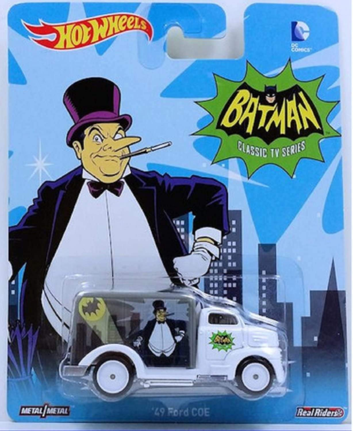 Hot Wheels Batman Classic TV Series The Riddler 70 Chevelle Delivery Die Cast
