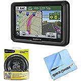 """Garmin dezl 570LMT 5"""" Truck GPS Navigation w Lifetime Map Traffic Portable Dash Mount Bundle"""