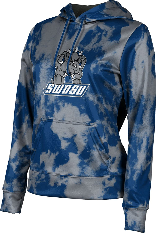 Grunge School Spirit Sweatshirt ProSphere Southwestern Oklahoma State University Girls Pullover Hoodie