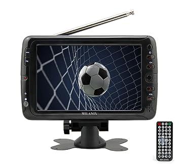 Milanix MX7 - Televisor portátil con Pantalla panorámica LCD de 7 ...