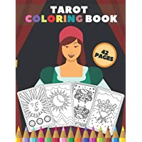 Tarot Coloring Book: Colouring Your Own Color Card Deck for Adults Beginners Teens