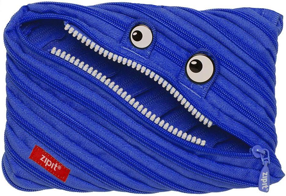 realizzato da una singola lunga cerniera astuccio Wildlings Jumbo ZTMJ-WD-CRE blau colore blu ZIPIT