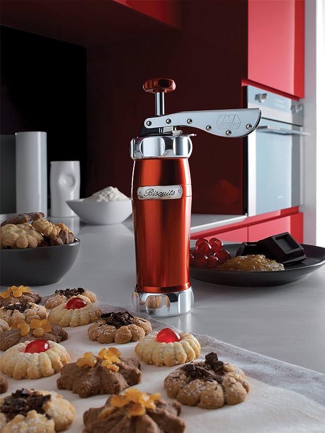 Amazon.com: Marcato Atlas Deluxe Biscuit Maker Cookie Press, Made ...