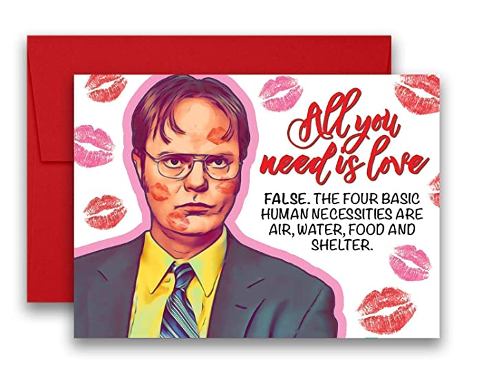 Top 10 The Office Card Valentines Day