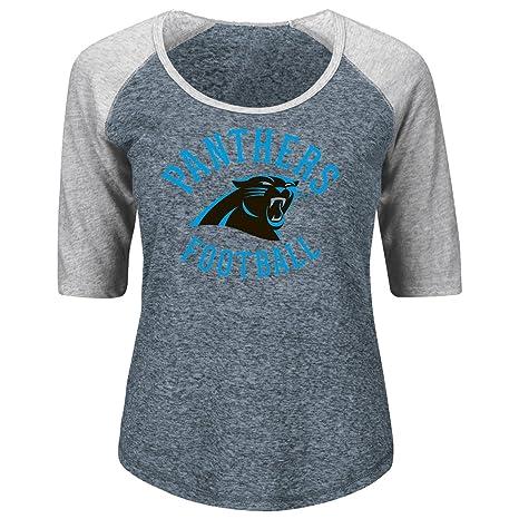 ef0da583 Amazon.com : Majestic Carolina Panthers Women's NFL Champion Scoop ...
