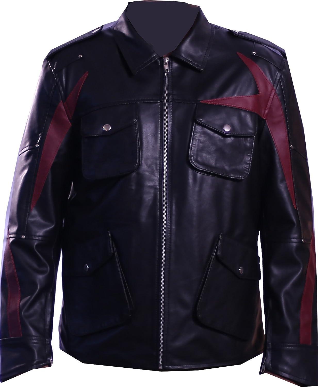The Jacket Makers Mens Prototype 2 James Heller Alex Mercer Genuine Leather Jacket