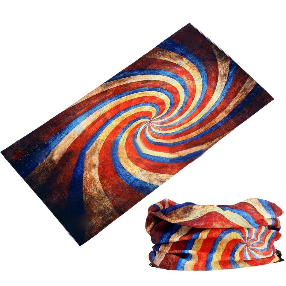 M。バクスター[ 12 - in - 1ヘッドバンドバンダナPlaid ]スポーツカジュアルHeadwear万能バンダナヘルメットライナーBalaclava Neck Gaiter Moisture Wicking  multicolor-05 B01E753LQ8