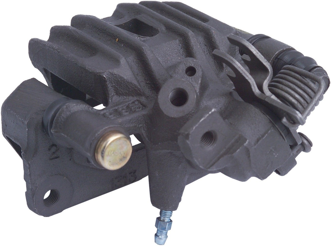 Brake Caliper Cardone 19-B1378A Remanufactured Import Friction Ready Unloaded