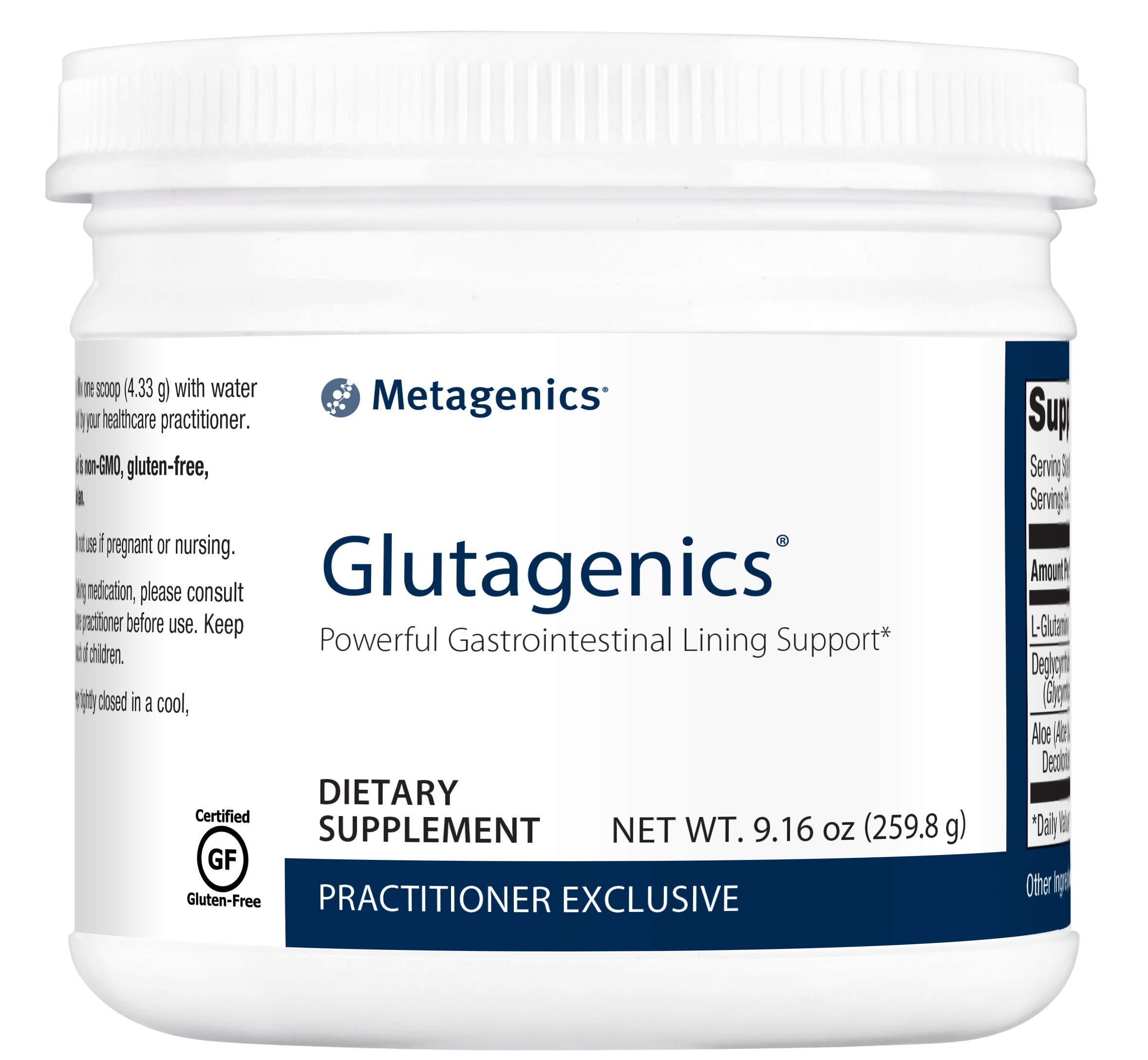 Metagenics Glutagenics® – Powerful Gastrointestinal Lining Support* | 60 servings