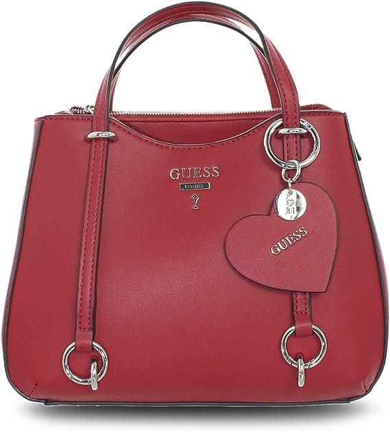 HWVY7170050 Crimson Guess GUESS HANDBAG PRE Borsa Donna