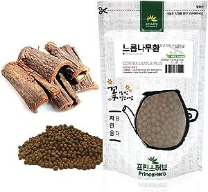[Medicinal Korean Herbal Pills] Cortex Ulmus, Slippery Elm Pills/느릅나무 껍질 환/유근피 환 (4oz / 113g)