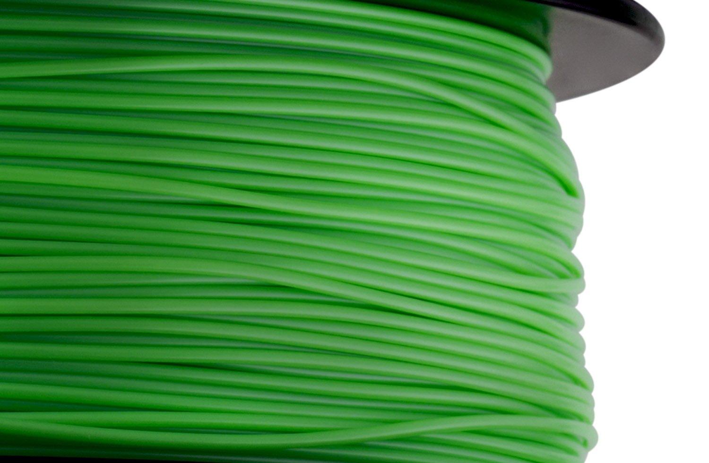 Dimensional Accuracy +//- 0.03 mm Green 1.75 mm 3D PETG-1KG1.75-GRN 1 kg Spool HATCHBOX PETG 3D Printer Filament