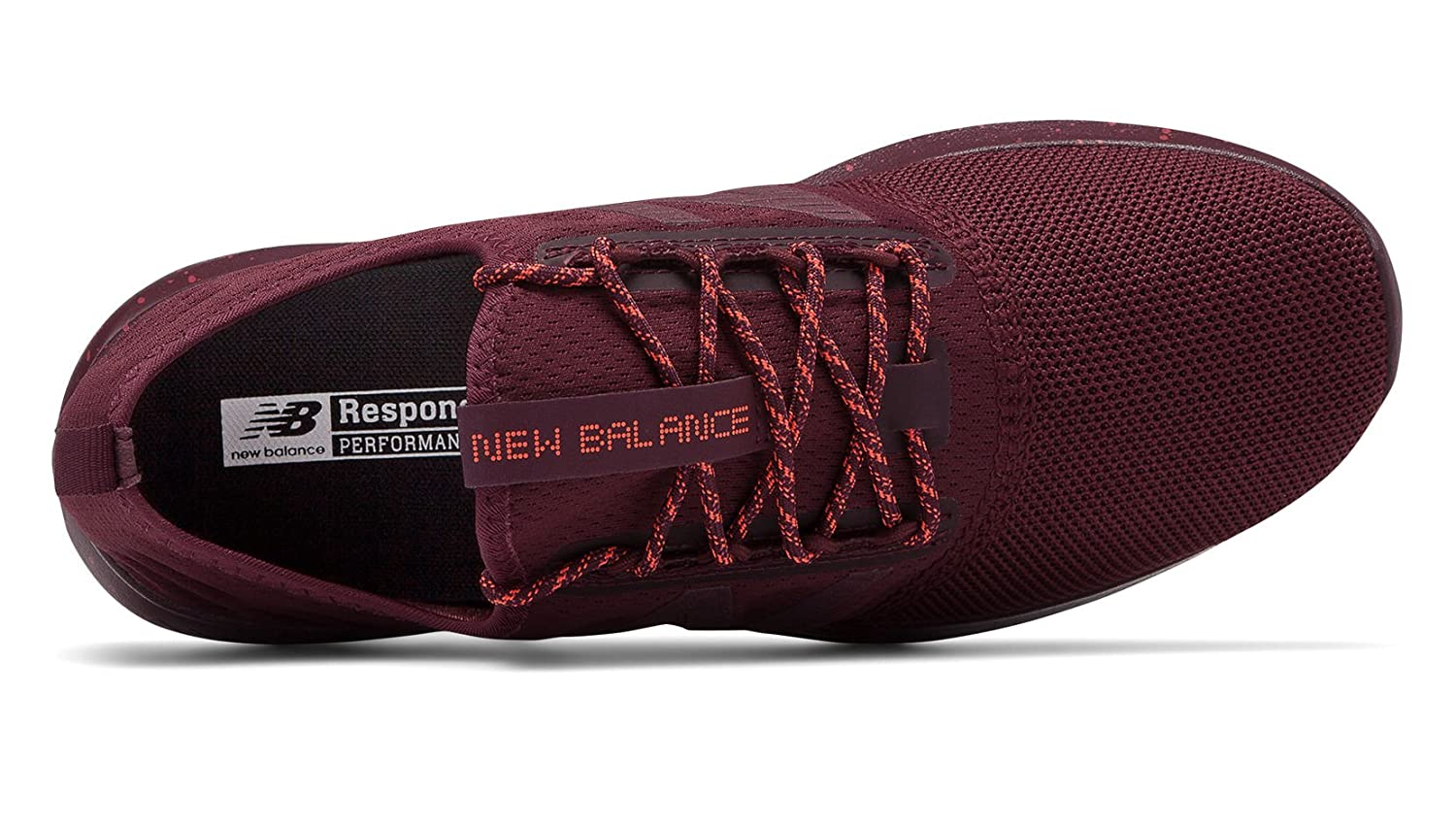 New Balance Women's Coast V4 FuelCore Running Shoe B0792522BQ 9 D US|Nubuck Burgundy/Earth Red/Dragonfly