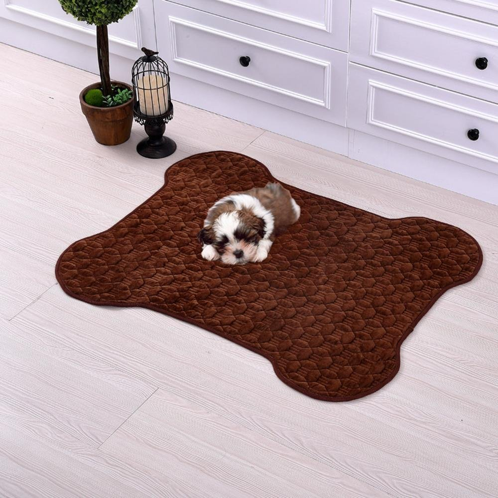 C 5040cm C 5040cm Aoligei Pet Mat Pet Cleaning Mat Dog Blanket cat Litter Bed Perfect for Sunbathing mat, Nap&Sleeping Bed