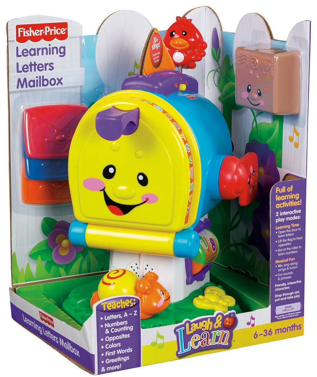 Fisher-Price Laugh & Learning Letters Mailbox by Fisher-Price (Image #10)
