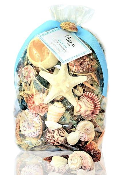 Amazoncom Manu Home Ocean Scented Potpourri Bag 12 Oz Home
