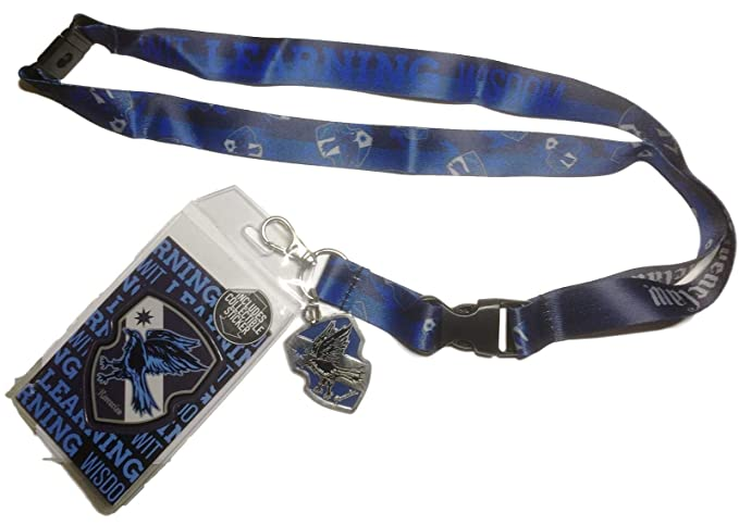 Amazon.com: Harry Potter Ravenclaw ID Holder Lanyard Break ...