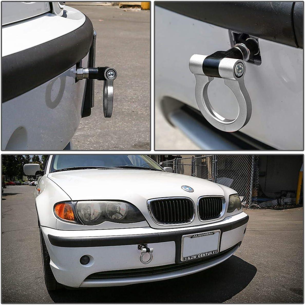 Purple MG Pro-industry Black Front /& Rear Bumper Screw on Tow Hook Kit for BMW 325 335I 330 328 318 M3 M5 E60 E90 E92 Coupe SED