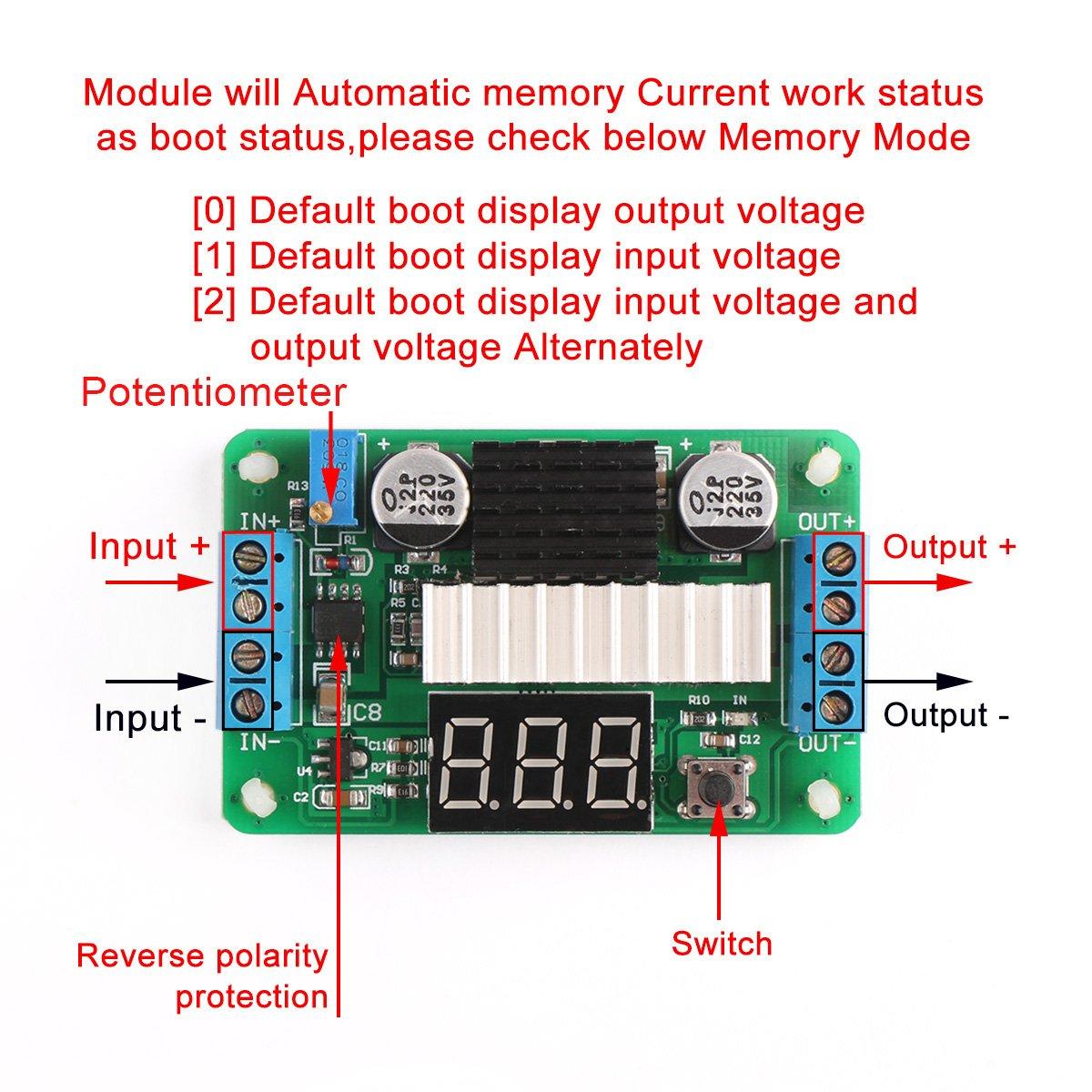 Drok Ltc1871 35v 30v Dc Boost Converter Power Voltagecontrolledcurrentsink Addaconvertercircuit Circuit Transformer Voltage Regulator 5v 12v Step Up Volt Module Supply Board For Car Auto Motor