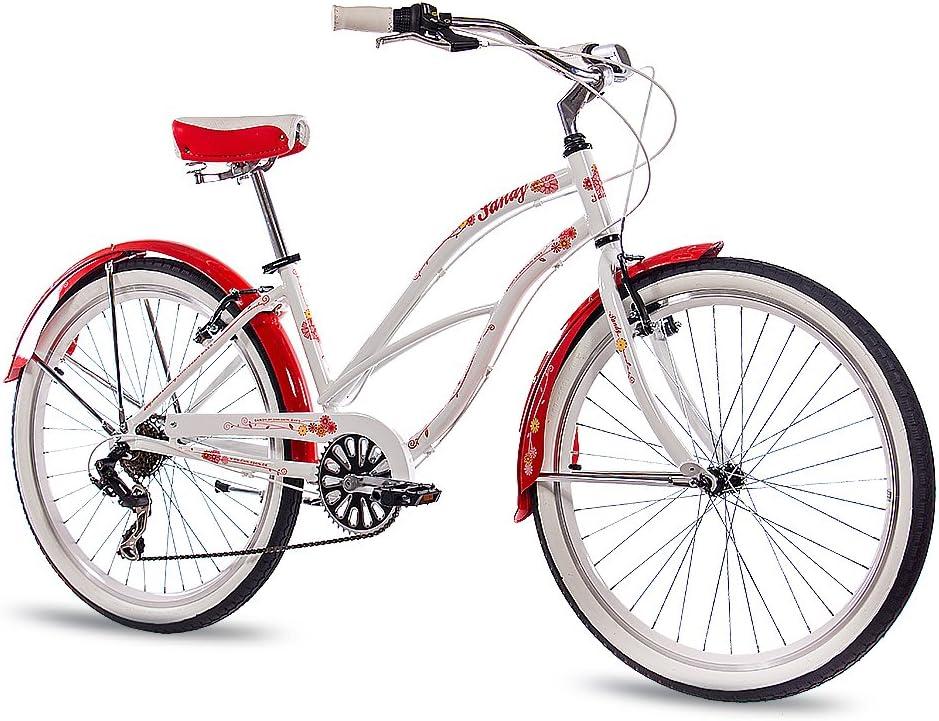 CHRISSON 26 Pulgadas Aluminio showbike Mujer Bicicleta Sandy con ...