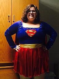 Amazon.com: DC Comics Secret Wishes Supergirl Costume: Clothing