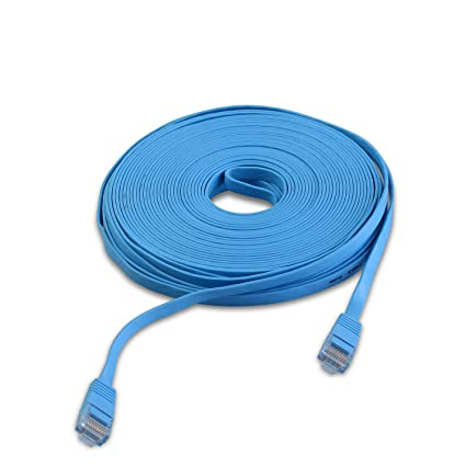 ANRAN 15M Ethernet RJ45 Cable Flat UTP 10/100/1000Mbps Ethernet Network Cable Network
