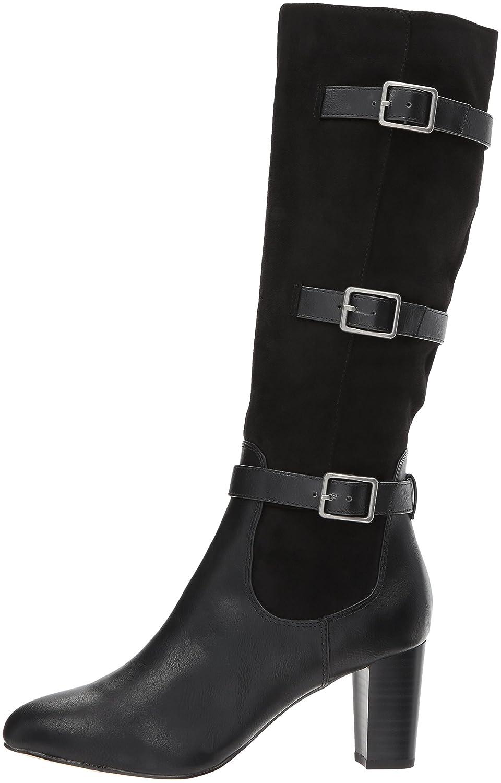 Bella Vita Women's Talina Ii Harness Boot B071CLVYQP 6 N US|Black Burnish