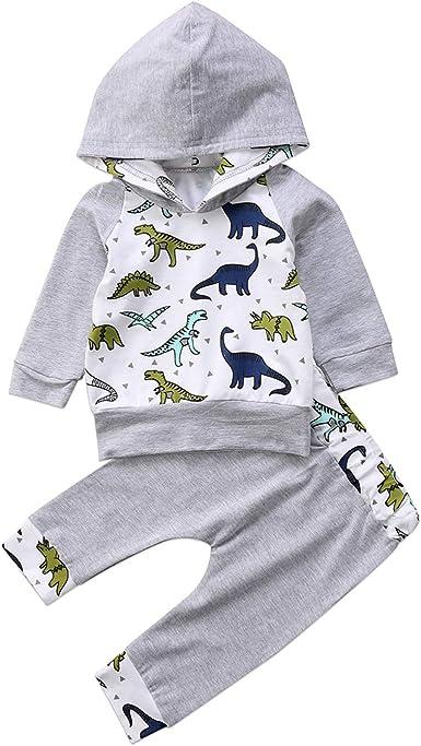 F Dinosaurs Hooded Long Sleeve Jumpsuit