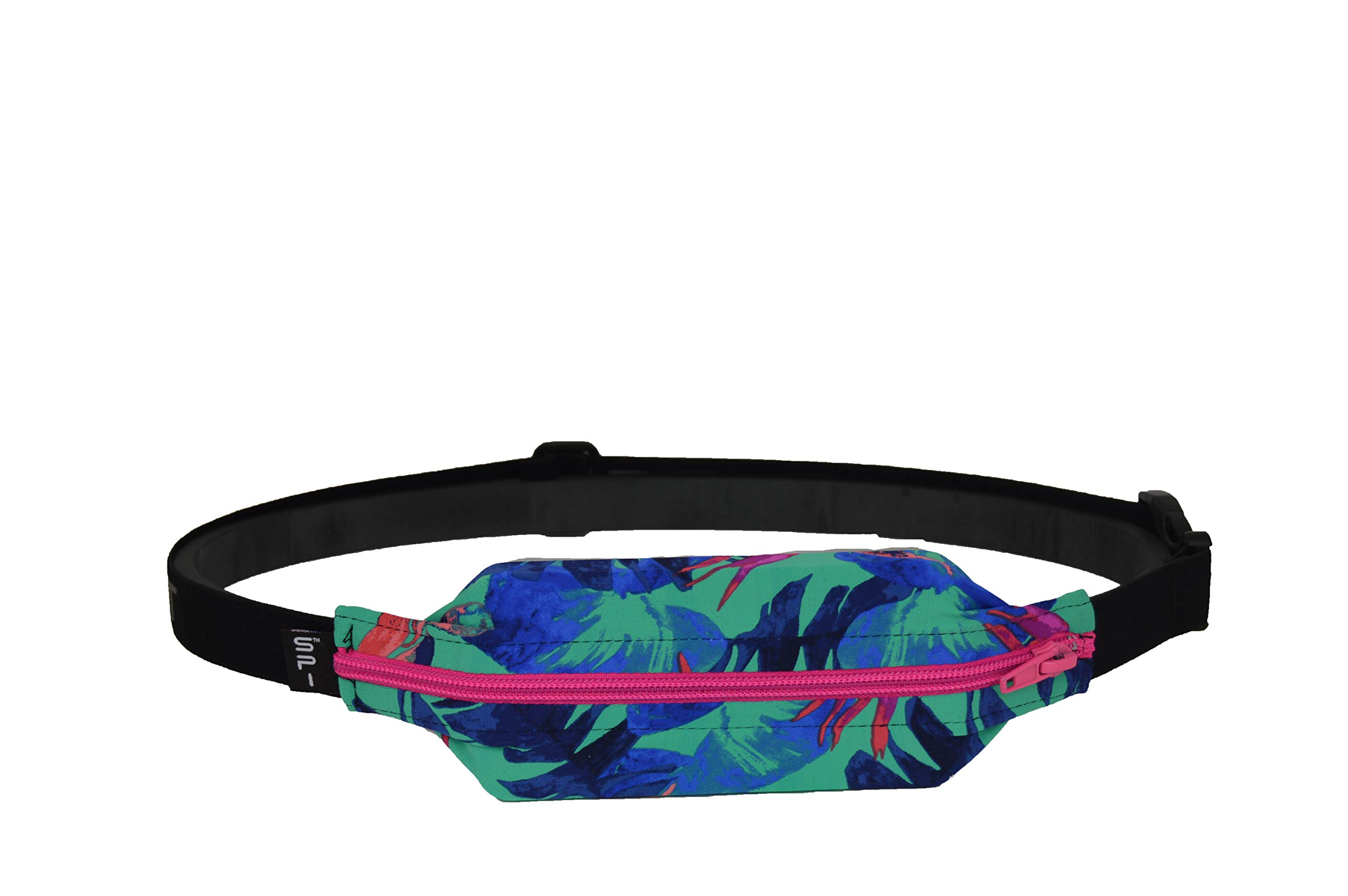 No-Bounce Waist Pack for Runners SPIbelt Running Belt Large Pocket Sport Pouch iPhone 6 7 8-Plus X Athletes