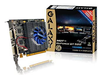 Amazon.com: Galaxy GeForce MDT GT 520 1 GB DDR3 PCI Express ...
