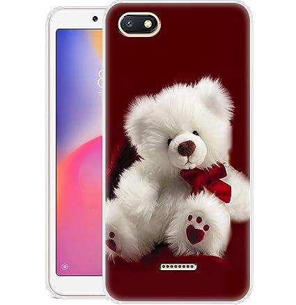finest selection 4838c 12743 Fashionury Printed Soft Back Cover Case for Xiaomi Redmi 6A /Designer  Stylish Back Cover for Xiaomi Redmi 6A P320