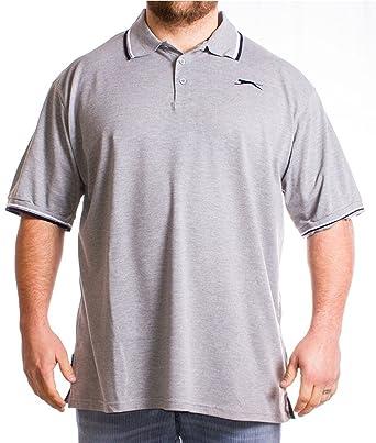 Slazenger - Polo - para hombre gris gris XXXX-Large: Amazon.es ...