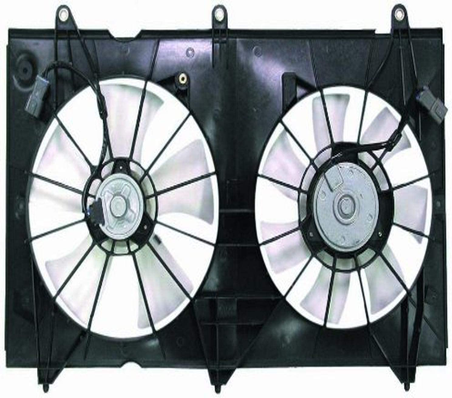 DEPO 317-55018-000 Replacement Engine Cooling Fan Assembly (This product is an aftermarket product. It is not created or sold by the OE car company)