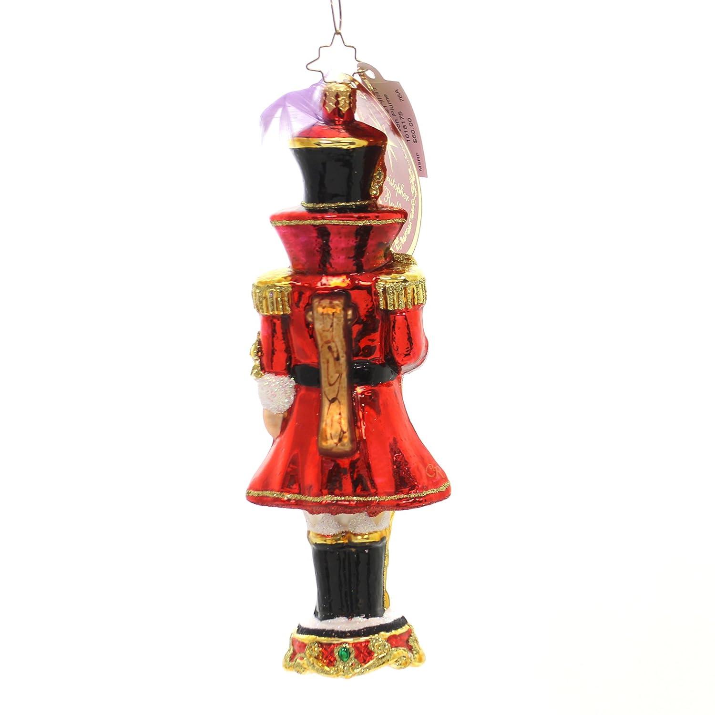 Amazon.com: Christopher Radko Baron von Plume Nutcrackers Christmas ...