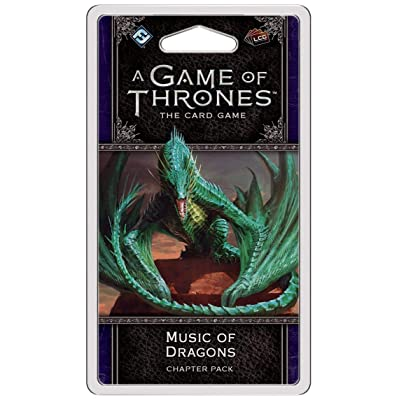 FFG GT34 Agot LCG 2nd Edition: Music of Dragons Games, Multicolor: Toys & Games