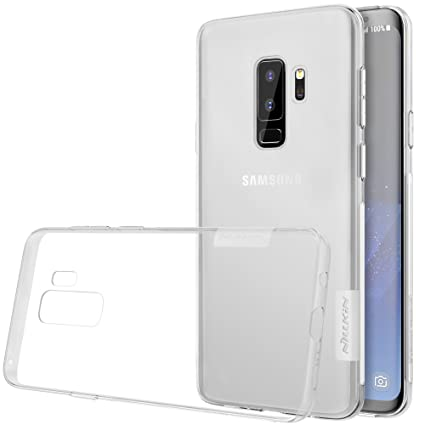 Samsung S9 Plus Case, Nillkin Nature Series Clear Soft TPU Case Back Cover [Ultra Thin] [Slim Fit] for Samsung Galaxy S9 Plus - Clear