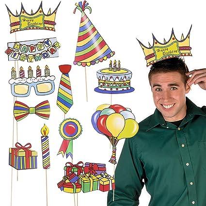 Amosfun Fiesta de cumpleaños Accesorios para Fotos ...
